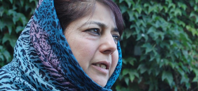 Detention of Mehbooba Mufti under PSA extended by 3 more months