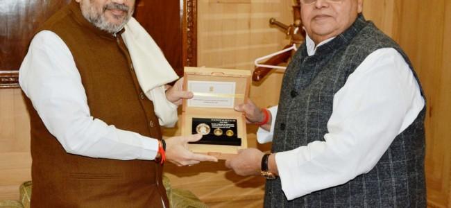 Governor Thanks Amit Shah For Visiting Kashmir