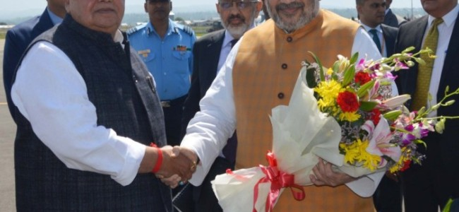 Amit Shah to meet families of policemen killed in militant attacks