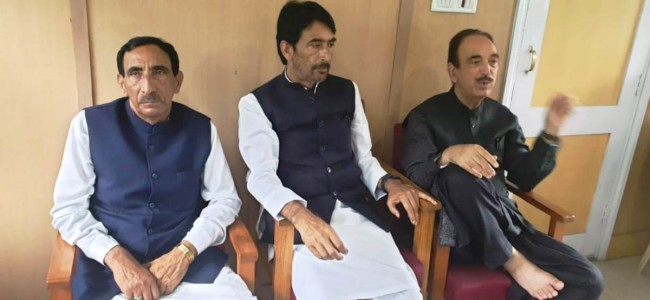 Restore confidence of people, change your J&K Policy: G A Mir to Centre