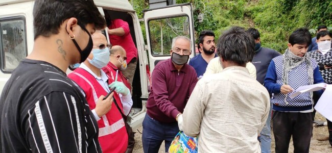 Red Cross Society Jammu distributes ration