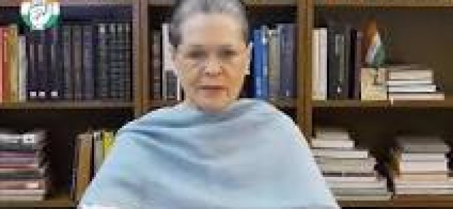Sonia Gandhi to miss monsoon session of Parliament, to travel outside India for medical check-up