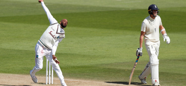 Chase keeps West Indies on top in first England Test