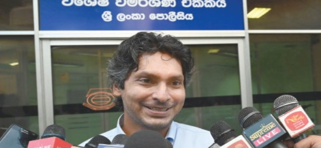 Sangakkara grilled in 2011 World Cup final fixing probe