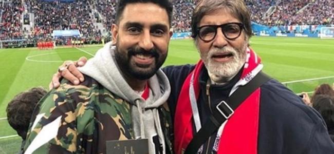 Amitabh Bachchan, son Abhishek test positive for coronavirus