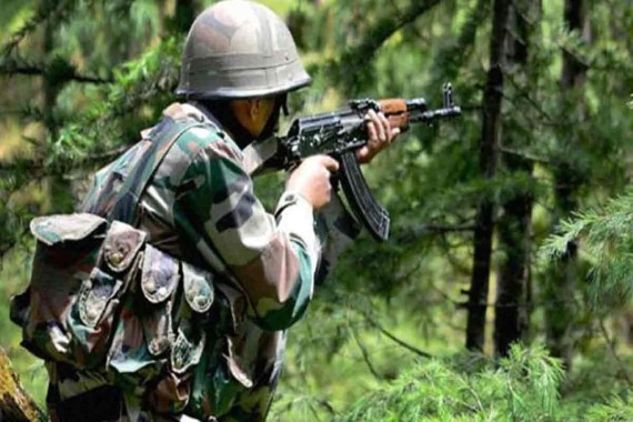 Shopian gunfight: One militant killed, operation on