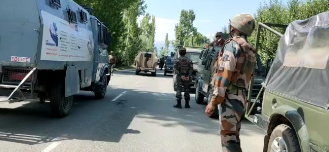 Even after ceasefire agreement anti-militancy operations to continue in Kashmir