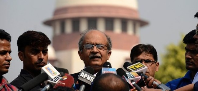 Tweets were against personal conduct of judges & not judiciary, Prashant Bhushan tells SC