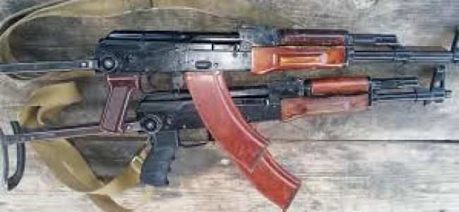 Govt forces recover arms, ammunition in north Kashmir village