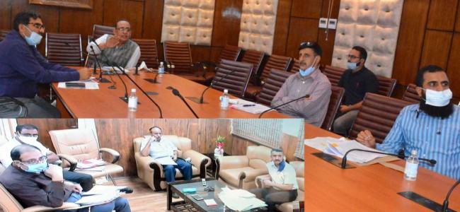 Kansal chairs committee meet for promotion of PDD officers