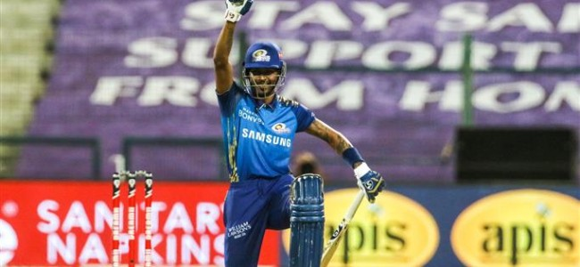 Hardik Pandya takes a knee in IPL to support of 'Black Lives Matter' movement
