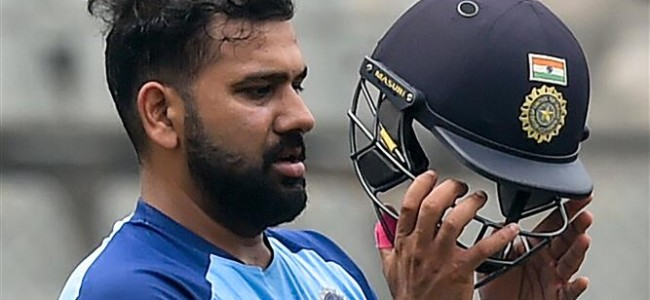 Holiday over, time for some cricket, says Rohit Sharma