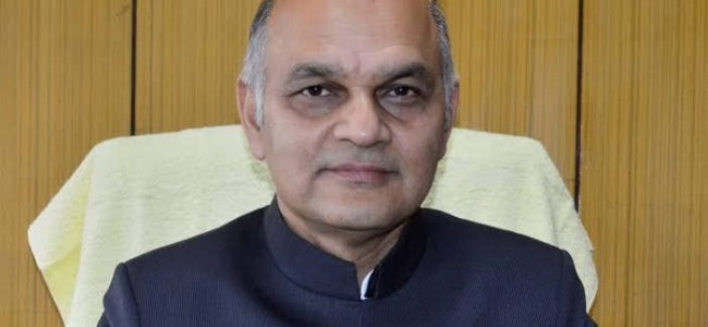 K K Sharma resigns as advisor to LG J&K, appointed State Election Commissioner