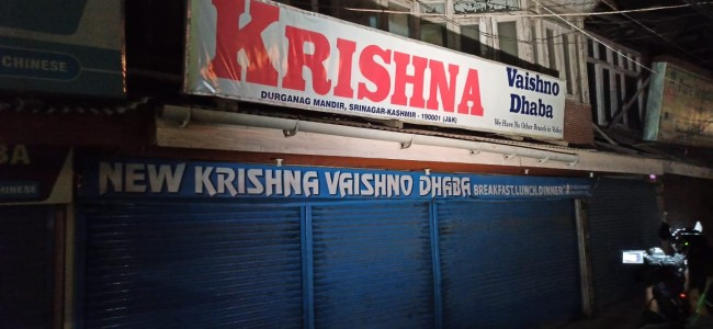 Krishna Dhaba owner's son succumbs to injuries days after being shot at