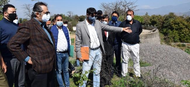 Role of PRI's key for multifold development of rural areas: Advisor Baseer Khan