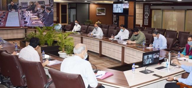 Advisor Baseer Khan reviews functioning of I&C department