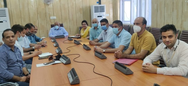 Commissioner Secy reviews promotion of Commercial Floriculture in J&K