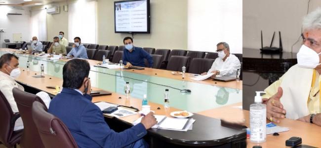 Lt Governor calls for robust Public Distribution System in J&K