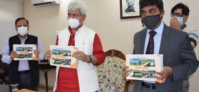 Lt Governor releases e-Compendium of 2177 completed projects under Back to Village Programme during 2020-21