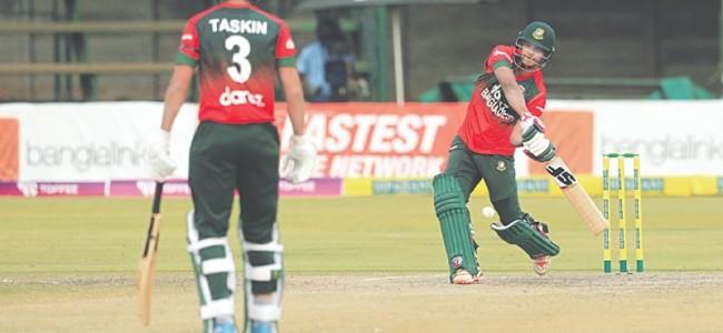 Zimbabwe upstage BD to level T20 series