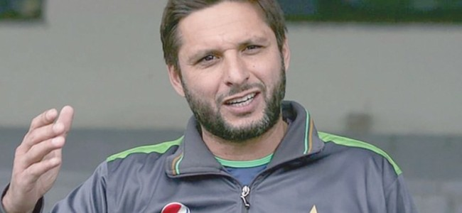 Shahid Afridi all set to play in Everest Premier League