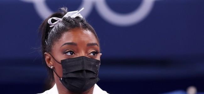 Simone Biles fails in gold bid as Naomi Osaka crashes out