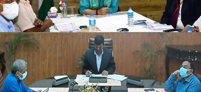 Lt Governor takes comprehensive review of various NHIDCL projects