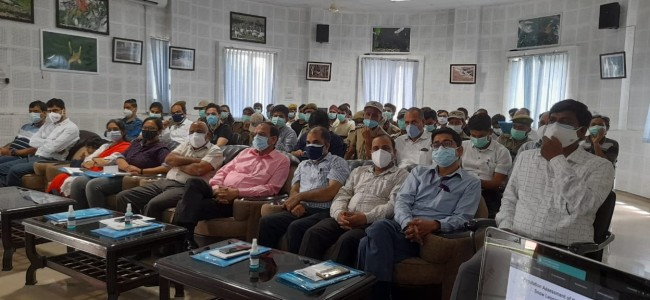 PCC Chairman inaugurates workshop on Snow Leopard Population Assessment in J&K