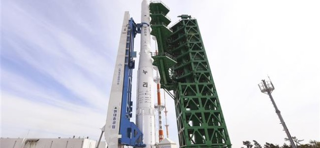 South Korea test-launches 1st domestically made space rocket