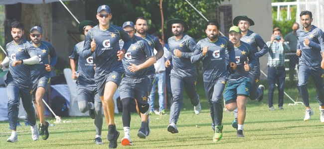 Short camp for T20 World Cup starts