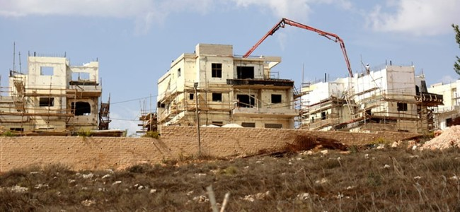 Israel to build over 1,300 settler homes in West Bank