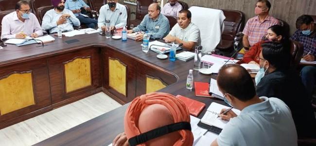 Dir Horticulture Jammu reviews progress of development activities in districts