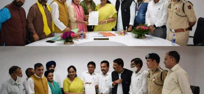 Union MoS Shobha Karandlaje concludes two day Kathua tour